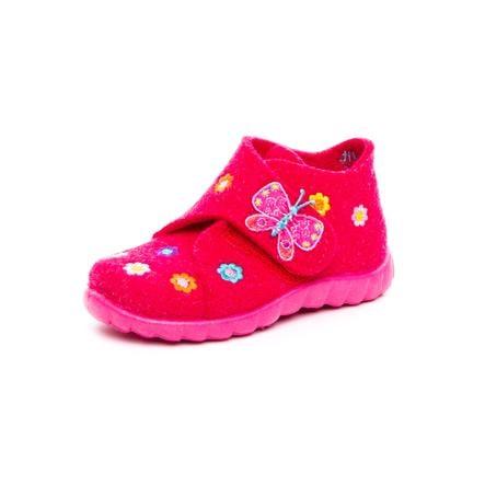 superfit Girl s slipper Happy butterfly pink kombi