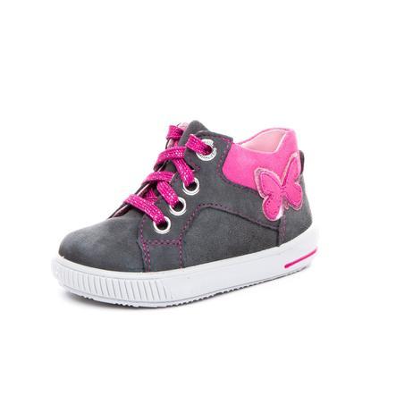 superfit Girl s Chaussure basse Gris moppé/rose (moyen)