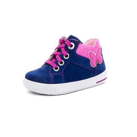 superfit Girl s lage schoen Moppy blauw/roze (medium)
