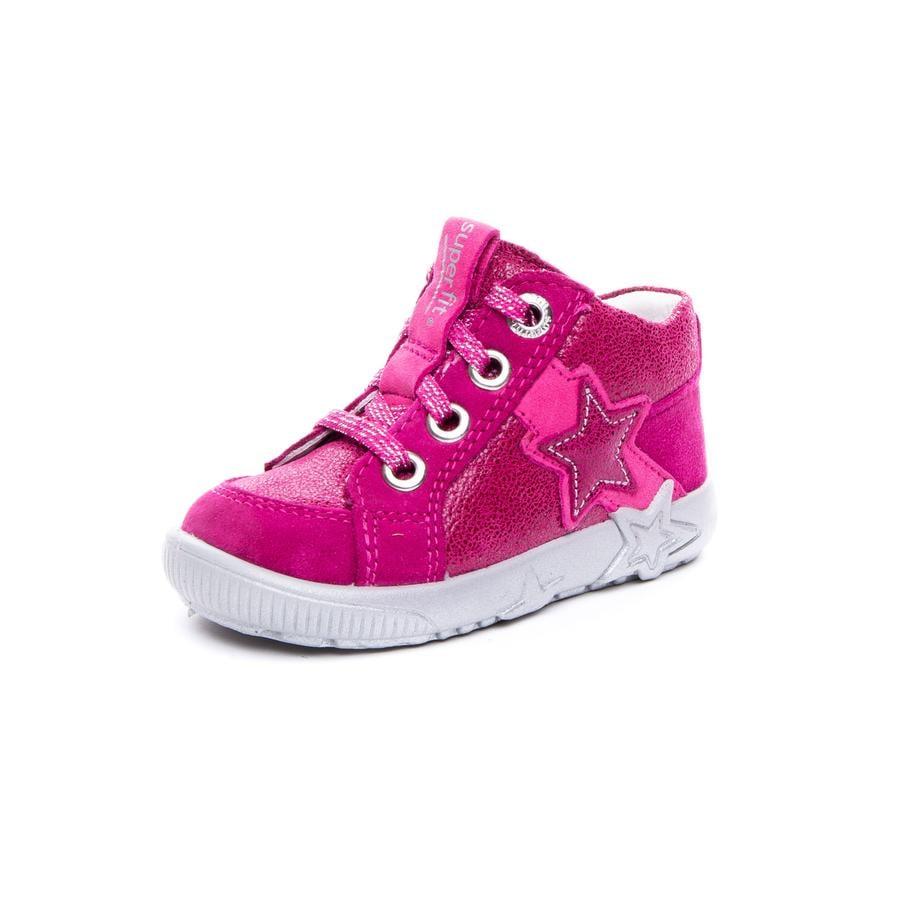superfit Girl s Scarpa bassa Starlight rosso/rosa (media)