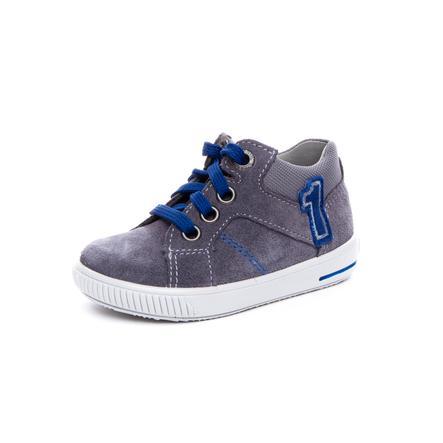 superfit Boys Chaussure basse Gris moppé/bleu (moyen)