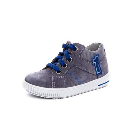 superfit Boys Scarpa bassa Moppy grigio/blu (medio)
