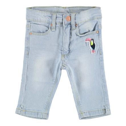 STACCATO Gilrs Skinny Capri-Jeans light blue