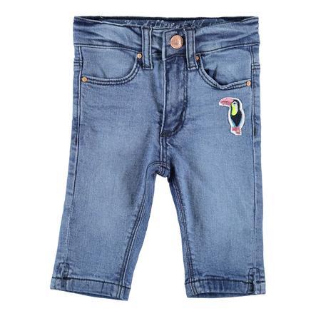STACCATO Gilrs Skinny Capri-Jeans medio azul