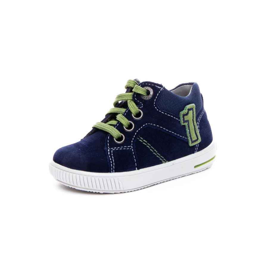 superfit Boys Scarpa bassa Moppy blu/verde (medio)