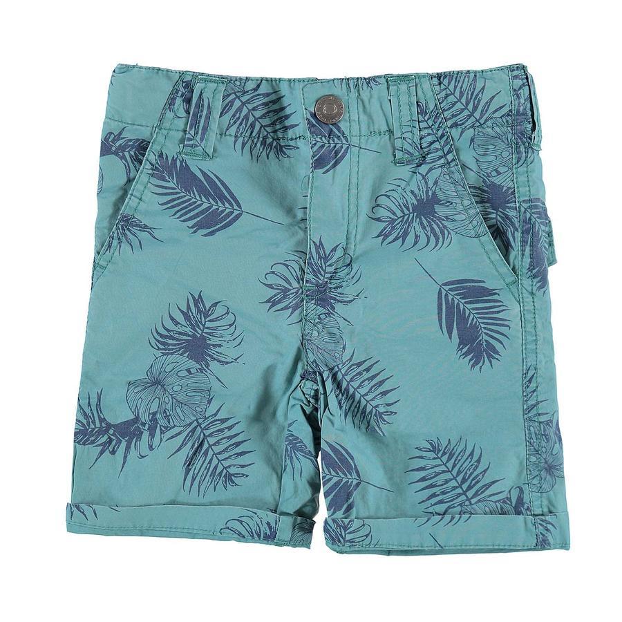 STACCATO Boys Chino-Bermuda con estampado azul
