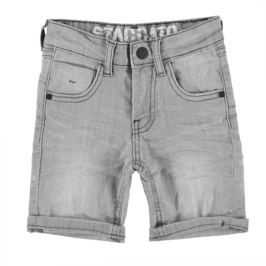 STACCATO Boys Jeansbermuda gris clair