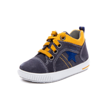 superfit Boys Chaussure basse Gris moppé/jaune (moyen)