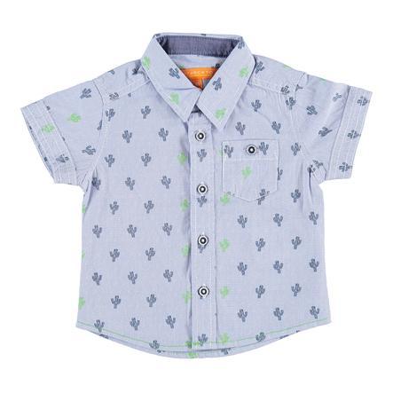 STACCATO Boys Koszula w jasnoniebieskim wzorze.