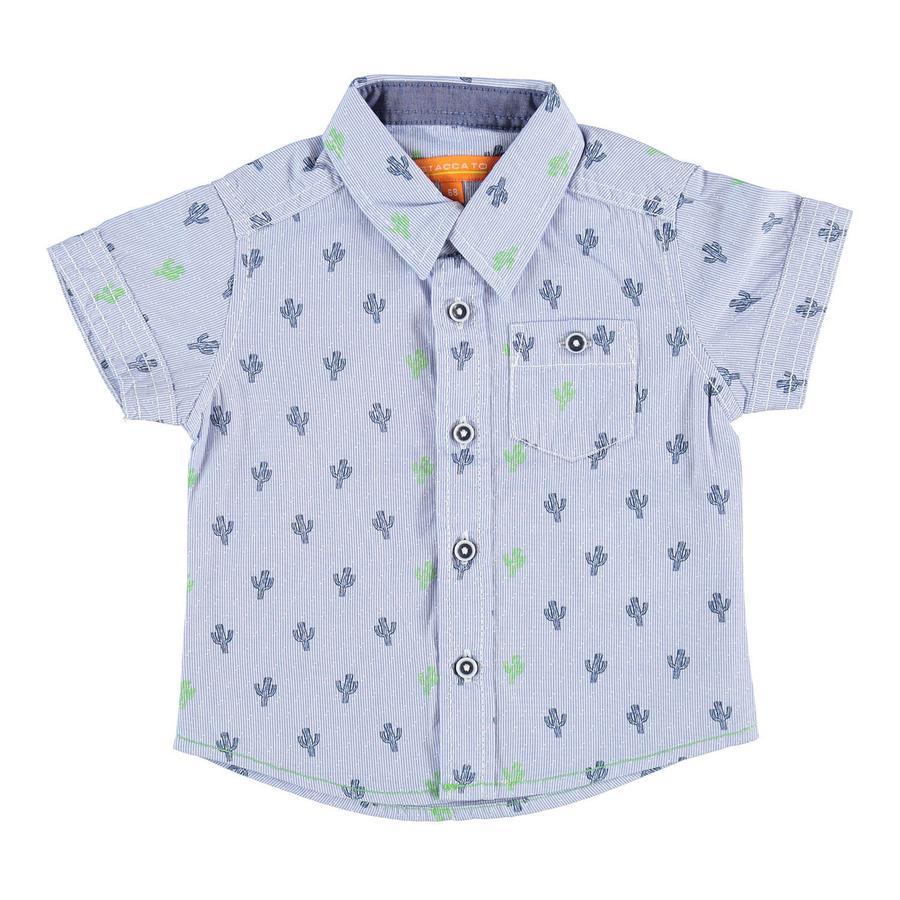 STACCATO Boys Chemise à motifs bleu clair