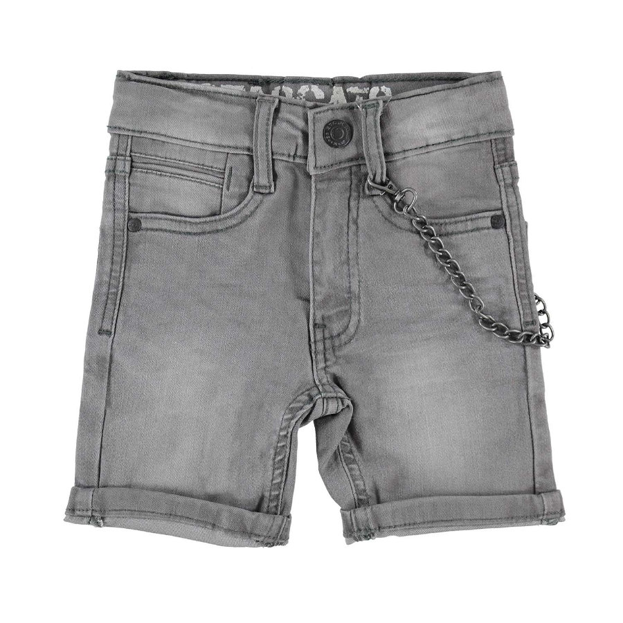 STACCATO Boys Jeans-gris Bermuda maigre