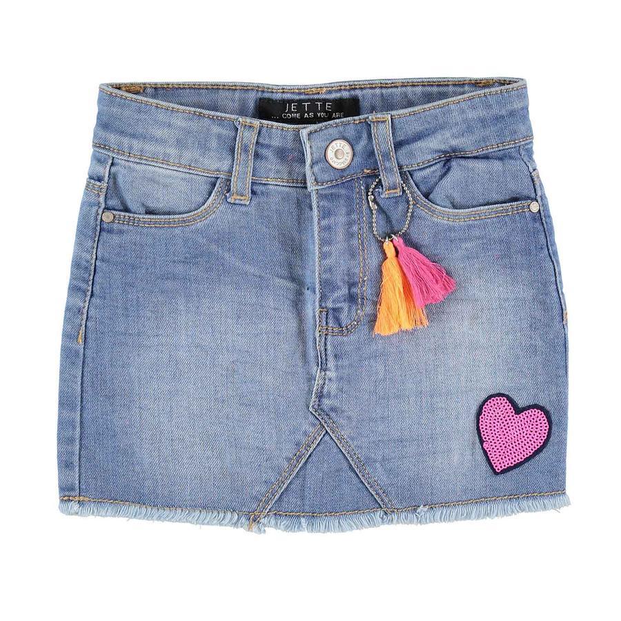 JETTE by STACCATO Girl s jupe en jean bleu