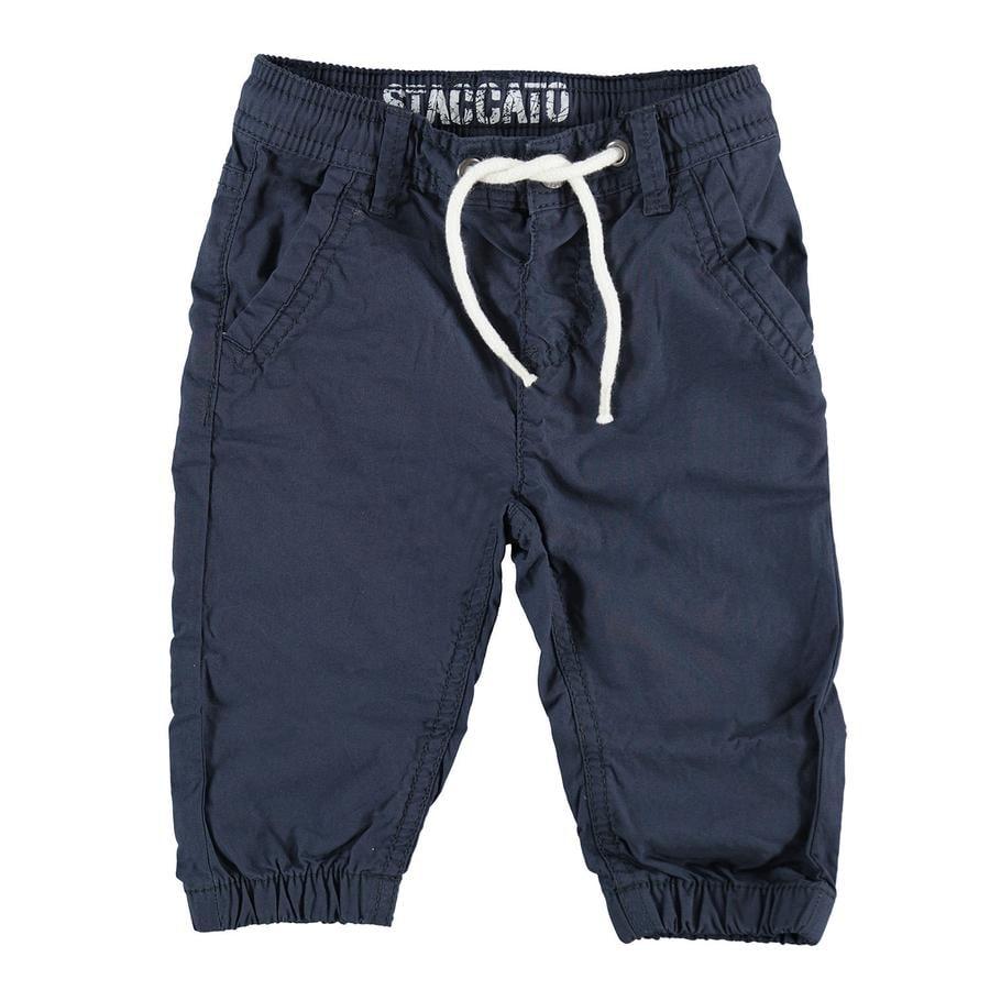 STACCATO Boys Pantalon bleu foncé