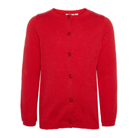 name it Girl s Cardigan Nmfvernaya rojo verdadero