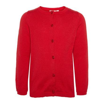 name it Girls Cardigan Nmfvernaya true red