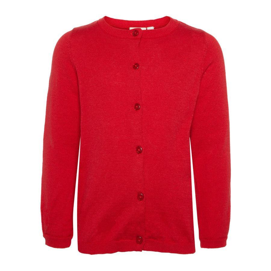 name it Girl s Cardigan Nmfvernaya prawdziwy czerwony.