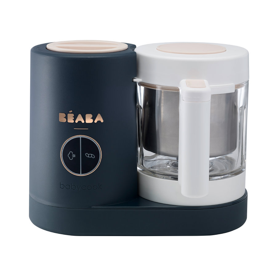 BEABA Robot cuiseur mixeur Babycook® Neo 4en1 bleu nuit