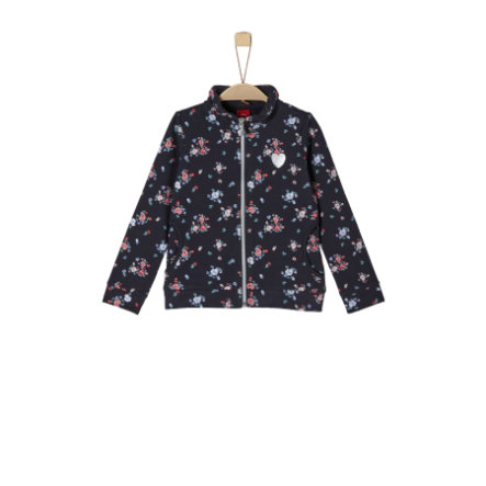 s.Oliver Girls Sweatjacke dark blue