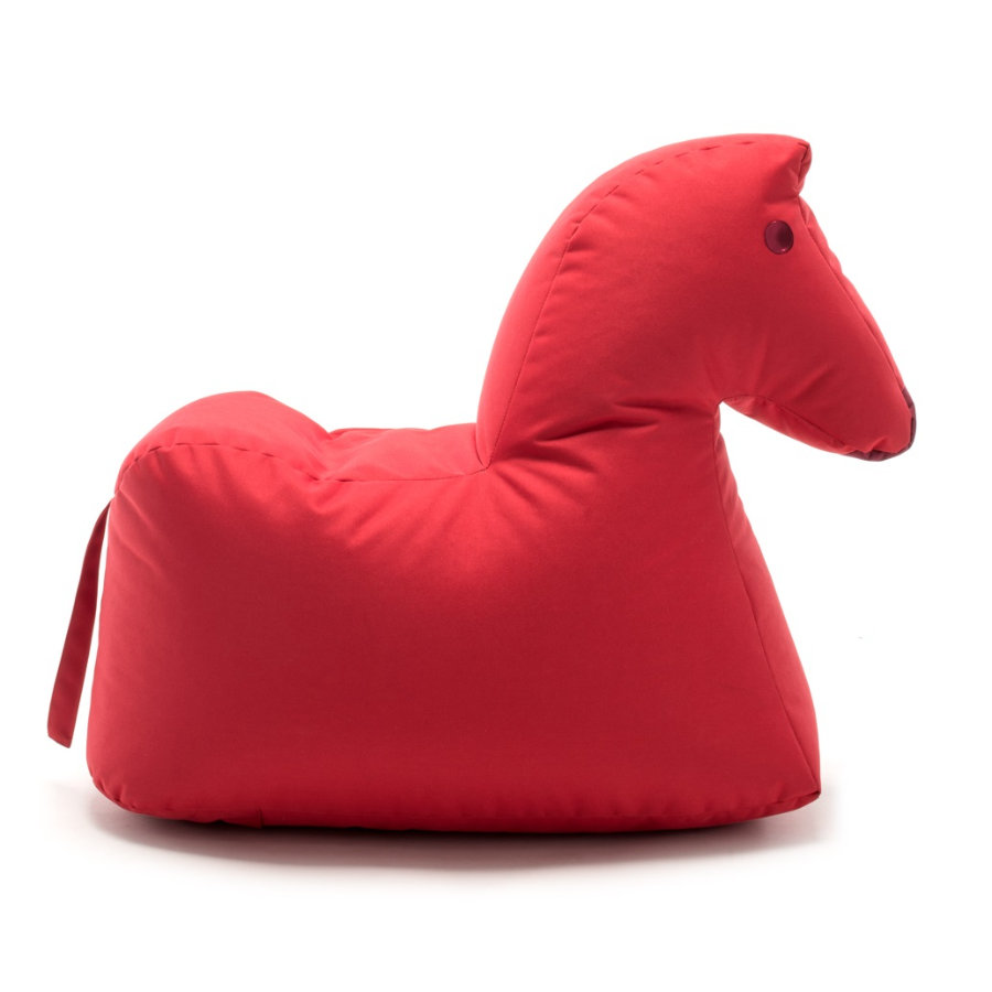 SITTING BULL® Pouf Happy Zoo Lotte, rosso