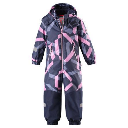 reima tec Kiddo zimní kombinéza Snowy heather pink