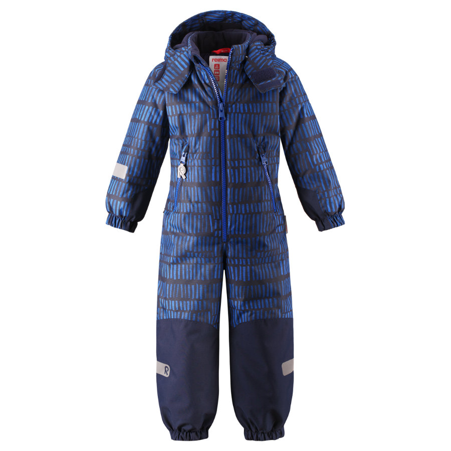 reima tec Kiddo winter jumpsuit Kiddo winter jumpsuit Besneeuwd blauw