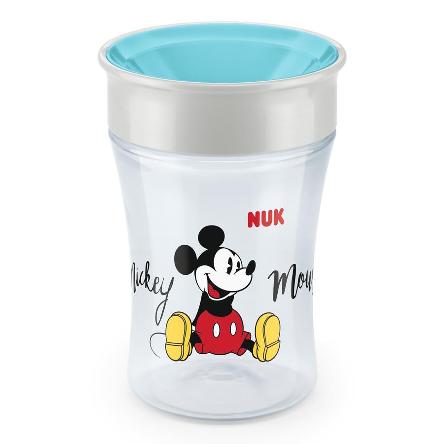 NUK Magic Taza 250 ml de taza a partir del 8º mes Design : Disney Mickey y azul Minnie ratón