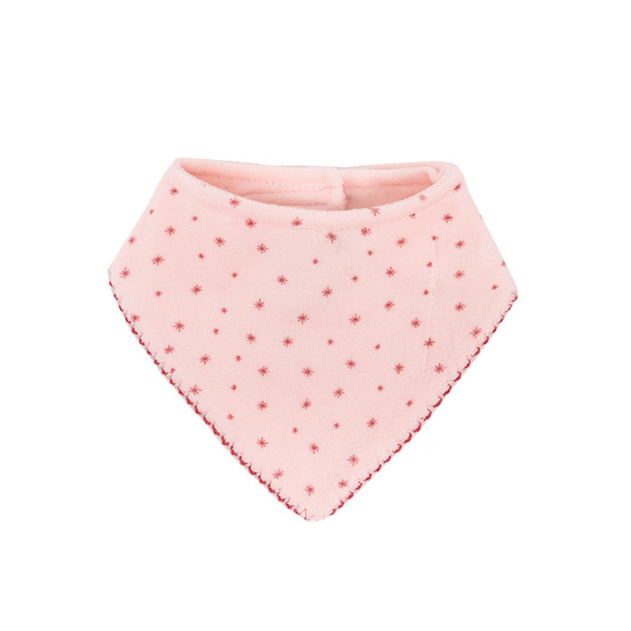 maximo Girls Dreieckstuch Sterne dogwood/rose