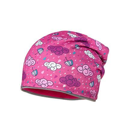 maximo Girl s Beanie pioggia pioggia nuvola nuvola bacche rosa scuro
