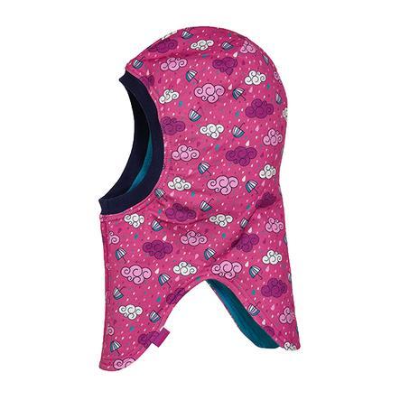 maximo Girl Czapeczka przeciwdeszczowa s slip cap chmury deszczowe ciemno różowe jagody