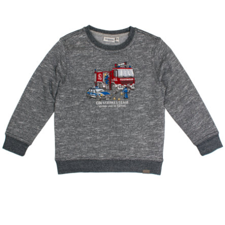 SALT AND PEPPER Boys Sweatshirt dark blue melange