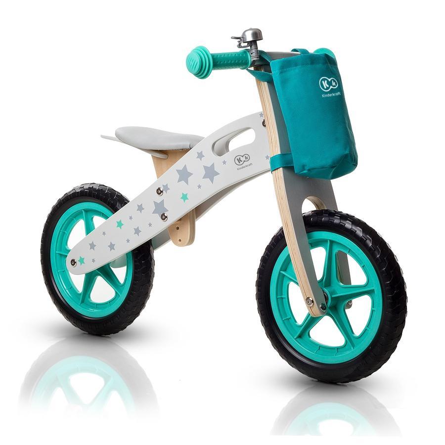 Kinderkraft - Rowerek biegowy Runner Motor 12 cali, miętowy