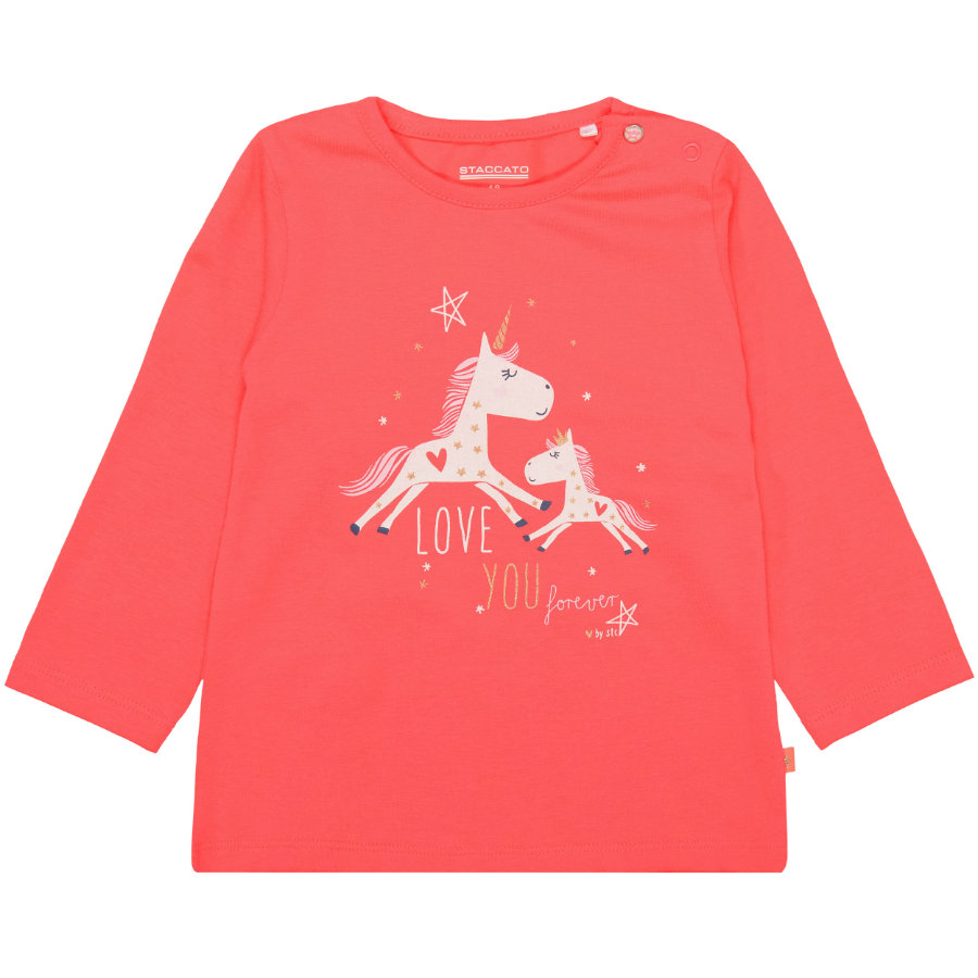 STACCATO Girls Langarmshirt red