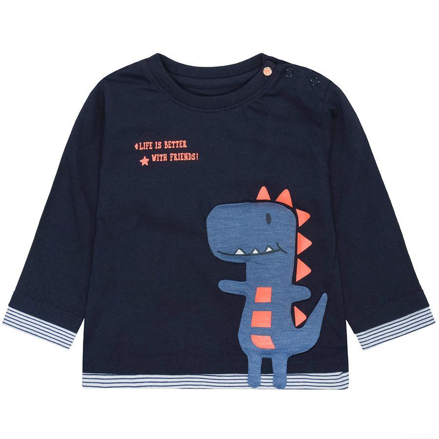 STACCATO Boys Koszulka z długim rękawem, ciemnoniebieska