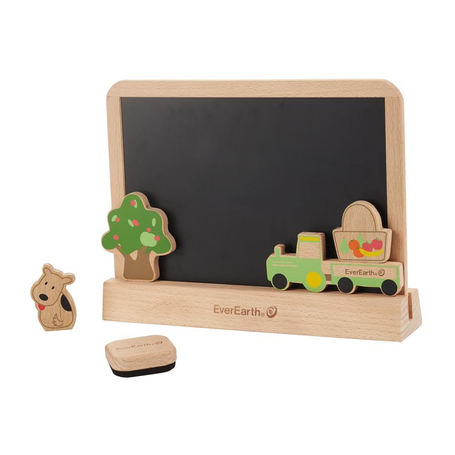 EverEarth® Tableau enfant à dessin, bois