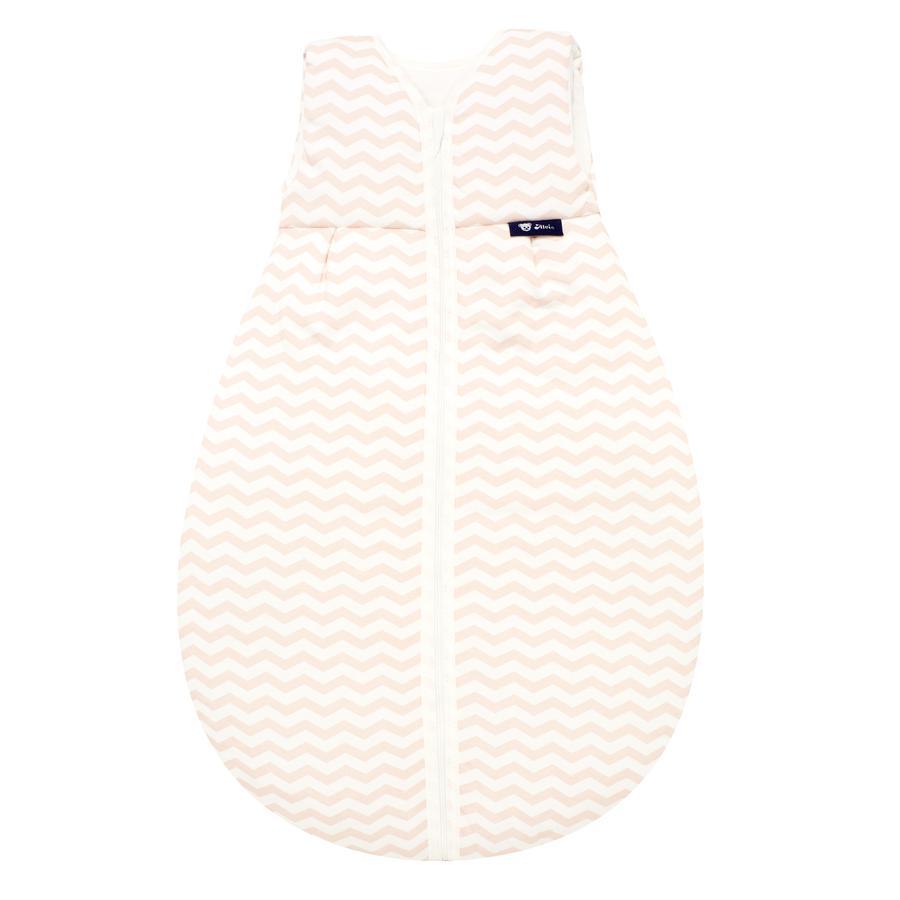 Alvi Jersey Ganzjahresschlafsack Chevron rosa 70 - 110 cm