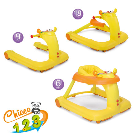 CHICCO Gåstol Activity-Center 123 ORANGE Kollektion 2015