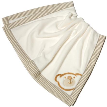Be Be' s Be' s Collection Fleece Blanket Grande Willi beige 75 x 100 cm