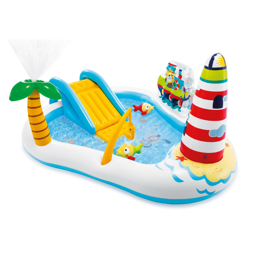 INTEX® Piscine gonflable enfant phare et poissons