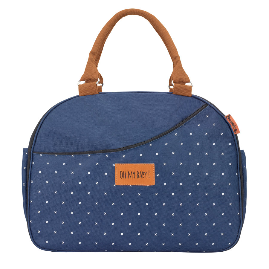 badabulle Borsa fasciatoio Weekend Navy Blue