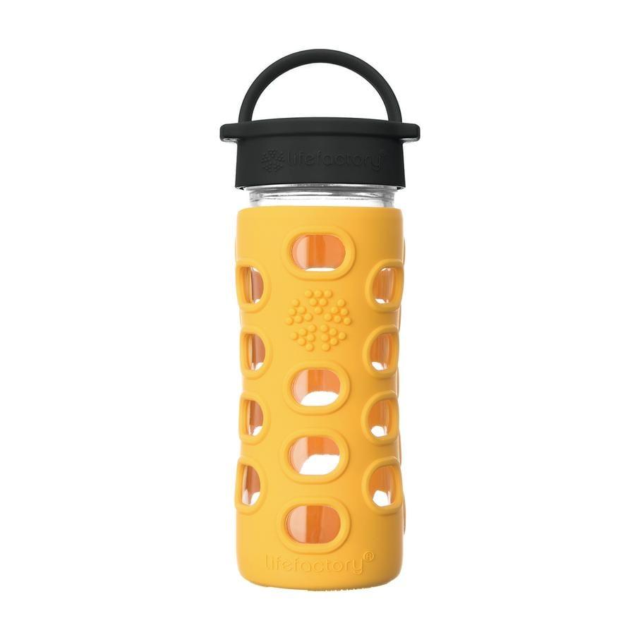 LIFEFACTORY Trinkflaschen Classic Cap marigold 350 ml