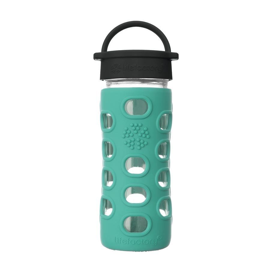 LIFEFACTORY Trinkflaschen Classic Cap kale 350 ml