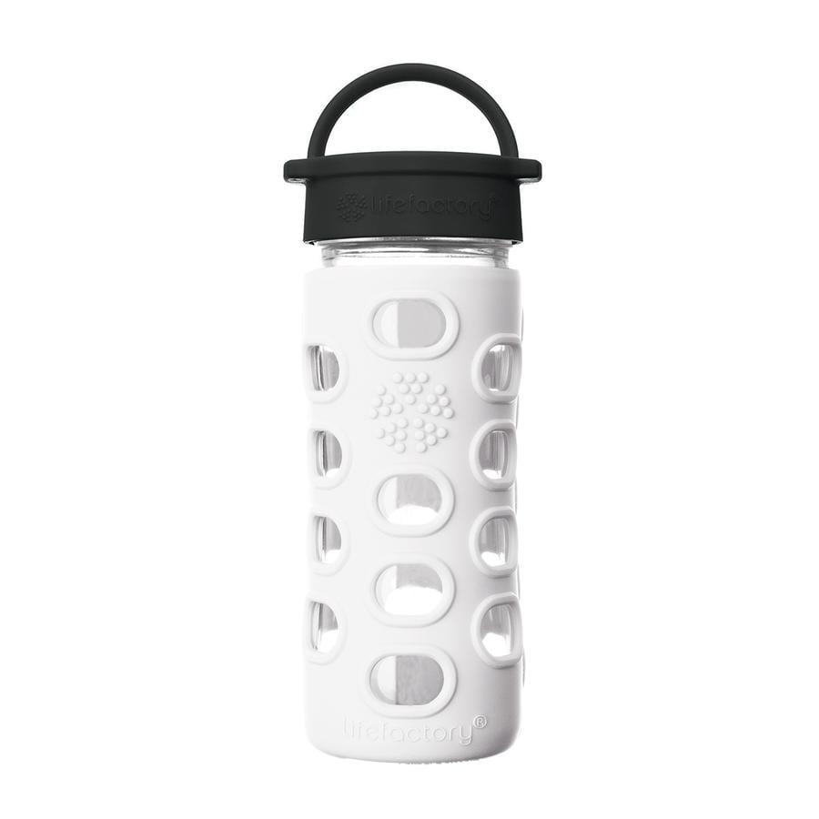 LIFEFACTORY Bottiglie per bevande Classic Tappo arctic white 350 ml