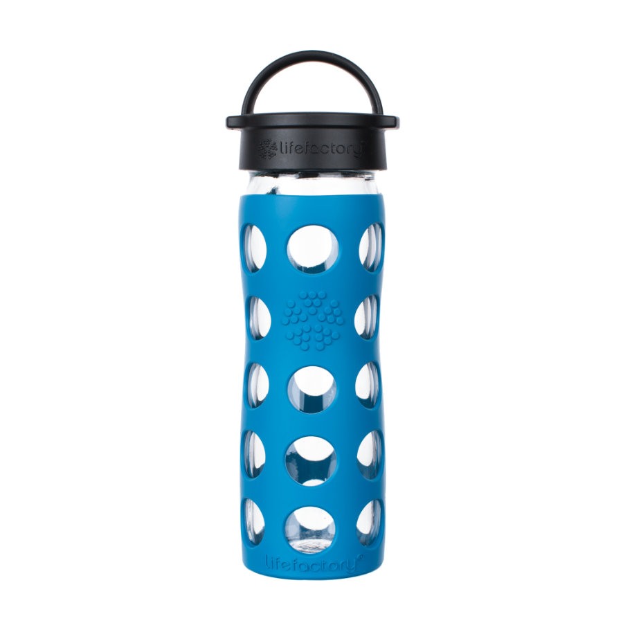 LIFEFACTORY Gourde enfant Classic Cap teal take 475 ml