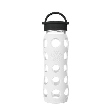 LIFEFACTORY Bottiglia per bevande Classic Tappo arctic white 650 ml