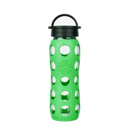LIFEFACTORY Trinkflasche Classic Cap moss 650 ml