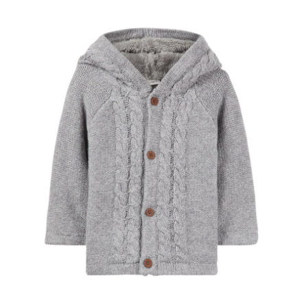 name it Strickjacke Neno grey melange