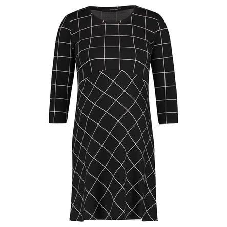 SUPERMOM Sukienka ciążowa Easy Grid Black