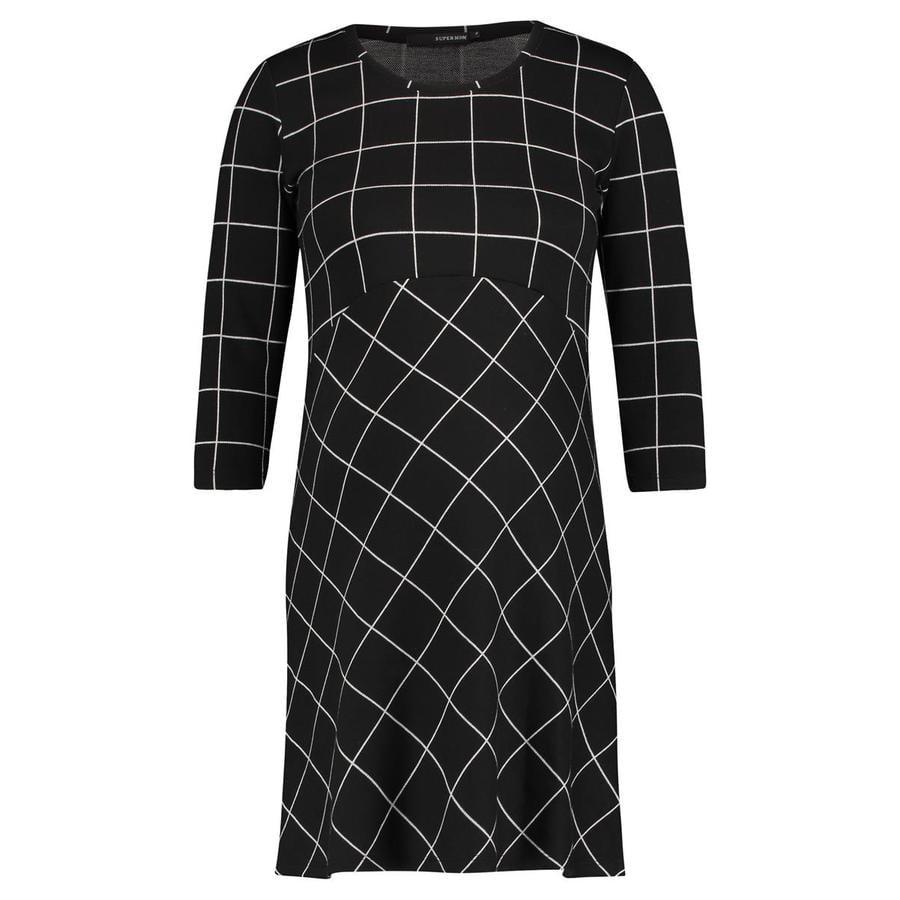 SUPERMOM Mammakjole Easy Grid Black