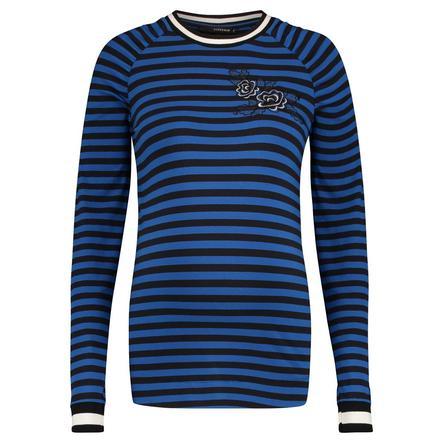 SUPERMOM Pitkähihainen paita raidallinen sininen