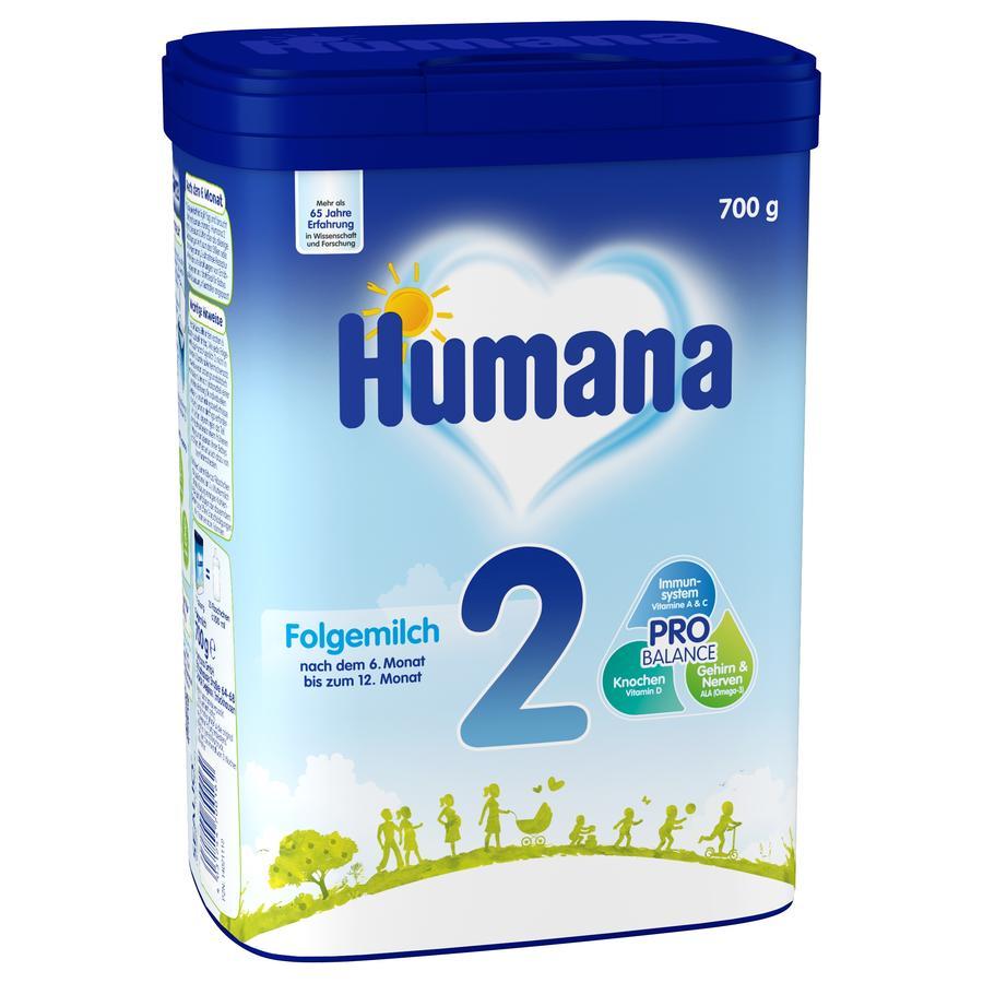 Humana Folgemilch 2 700 g nach dem 6. Monat
